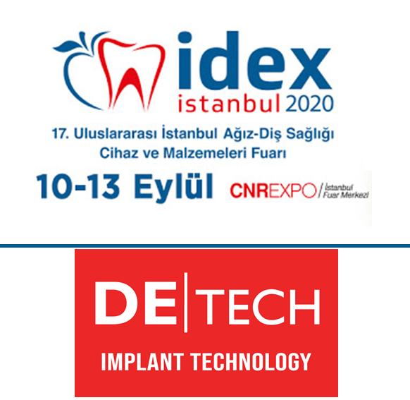 İDEX 17. Uluslararası İstanbul Ağız Diş Sağlığı Cihaz ve Malzemeleri Fuarı