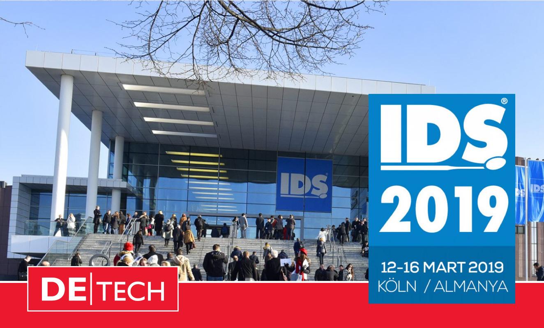 IDS 2019 Köln Uluslararası Diş Hekimliği ve Ekipmanları Fuarı