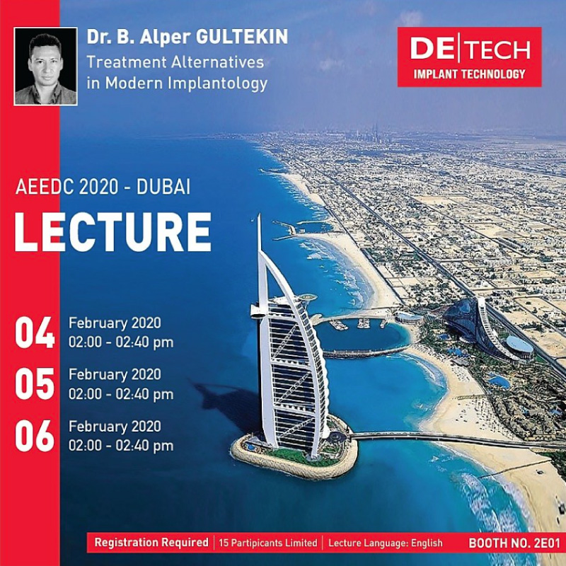 AEEDC 2020 – DUBAI LECTURE